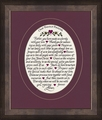 Our Family Prayer Gift Framed Christian Wall Decor - 5 Frames Available