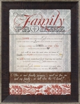 Our Family Promise - Christian Home Decor