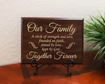 Our Family - Together Forever Home Wall Decor