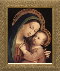 Our Lady of Good Counsel by Pasquale Sarullo - 4 Framed Options