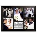 Our Wedding Christian Collage Photo Frame