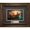 Peace Be Still by Howard Van Lyon - Framed Christian Art