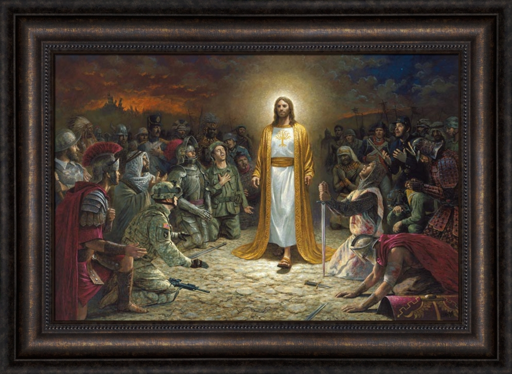 Peace Is Coming By Jon Mcnaughton Lordsart