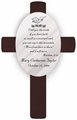 Personalized Baptism Cross Matthew 17:20