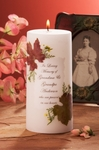 Personalized Baptism & Memorial Candles - 7 Choices Available