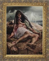 Pieta by Jason Jenicke - 2 Framed Options
