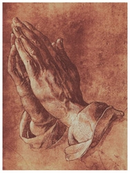 Praying Hands by Albrecht Durer - Unframed Christian Art