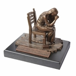 "Praying Woman Inspirational Sculpture - ""BEST SELLER"""