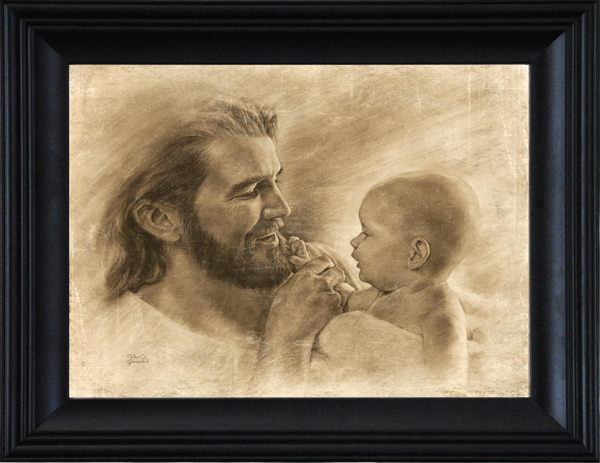 precious by david bowman jesus with baby 8 framed unframed options