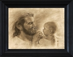 Precious by David Bowman - Jesus with Baby - 6 Framed & Unframed Options