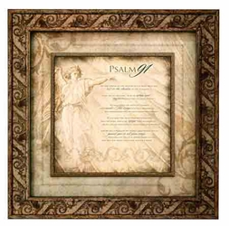 Psalm 91 Framed Christian Wall Decor