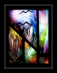 """Psalm CXXXIX 17"" by Sevenapples - Framed Christian Art"