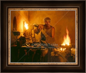 Refiner's Fire by Lars Justinen - 28 Framed & Unframed Options
