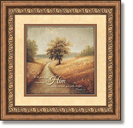 road proverbs 36 framed christian wall decor