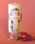 Scripture and Blessing Candles
