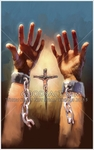 Set Free By The Cross by Lars Justinen - 14 Framed & Unframed Options