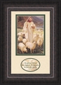 Shepherd by Warner Sallman Isaiah 40:11 - Framed Christian Art