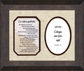 "Spanish Broken Chain Poem Photo Frame Male 9"" X 11"""