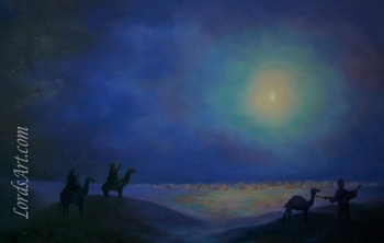 Star of Bethlehem by Bryan Lynch - 3 Unframed Options