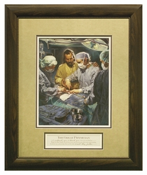 The Great Physician by Nathan Greene - Framed Christian Art