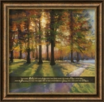 """The Lord Bless You - """"Shadows"""" Christian Wall Decor"""