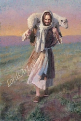 The Lord is My Shepherd by Morgan Weistling - 6 Framed & Unframed Options