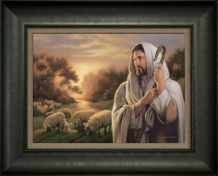 The Lord is My Shepherd by Simon Dewey - 8 Framed & Unframed Options