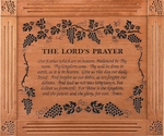 "The Lord's Prayer Grand Carved & Framed Christian Wall Decor - 33""x39"""