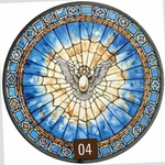 Tiffany - The Holy Spirit Stained Glass Artwork
