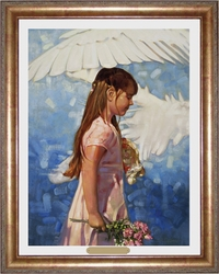 Under His Wings by Ron DiCianni - 4 Framed & Unframed Options