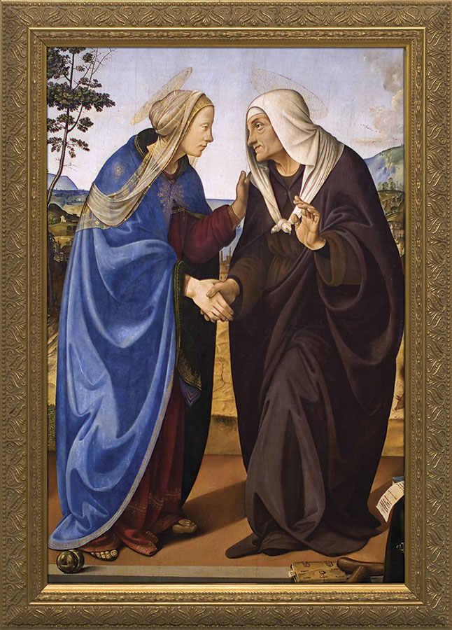 Visitation Of Mary And Elizabeth Lordsart Com