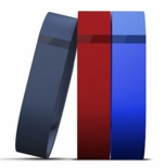 Fitbit Large Replacement Bands designed for the Flex -  Navy, Red, Blue
