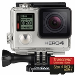 GoPro Hero4 Silver Edition HD Action Camera with 32GB Ultra Memory Card