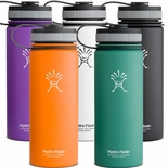 Hydro Flask 18 oz. Wide Mouth Insulated Stainless Steel Bottles