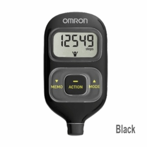 Omron HJ-203 Pedometer with Activity Tracker (color Black)