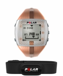 Polar FT4 Fitness Women's Heart Rate Monitor Bronze Brown