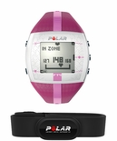 Polar FT4 Fitness Women's Heart Rate Monitor (Purple Pink)