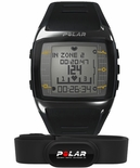 Polar FT60 Mens Fitness Heart Rate Monitor Black 90036405