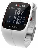 Polar M400 GPS Powered Fitness Watch (White)