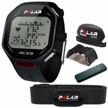 Polar RCX5 Cycling Heart Rate Training Computer w/H2 Transmitter Black 90038891