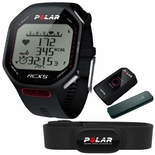 Polar RCX5 G5 GPS Multi Sport Training Computer w/H2 Transmitter Black 90038888