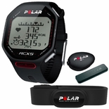 Polar RCX5 SD Run Heart Rate Training Computer w/H2 Transmitter (Black)
