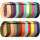 Replacement Band in various colors and sizes designed for the Fitbit Flex
