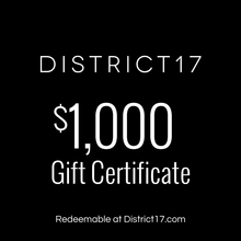 __$1000.00 Gift Certificate