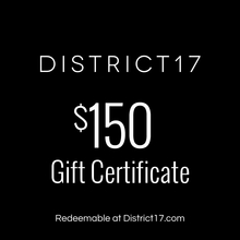 _$150.00 Gift Certificate