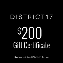 _$200.00 Gift Certificate