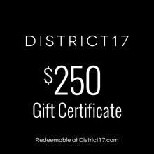 _$250.00 Gift Certificate