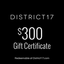 _$300.00 Gift Certificate