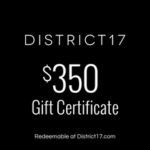 _$350.00 Gift Certificate