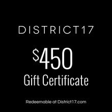 _$450.00 Gift Certificate